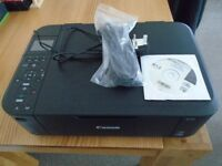 CANON MG 4250 BLACK BRAND NEW NEVER USED COMES WITH INSTALLATION CD