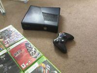 Xbox 360 plus games