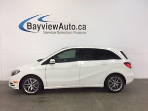 2013 Mercedes-Benz B250 - PANOROOF! HTD LEATHER! BLUETOOTH!