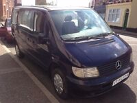 NEAT LEFT HAND DRIVE MERCEDES BENZ VITO, DRIVES PERFECTLY, ENGINE AND MECHANICS IN GREAT SHAPE..CALL