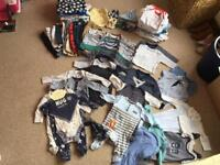 Boys Autumn/winter bundle upto 3 months