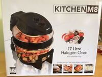 Kitchen M8 Halogen Oven 17 Litre (Black)