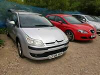 58 PLATE CITROEN C4. 1.6 HDI TURBO DIESEL. PX TO CLEAR