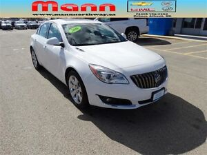 2016 Buick Regal Premium I - Remote start, AWD, Alloy wheels.