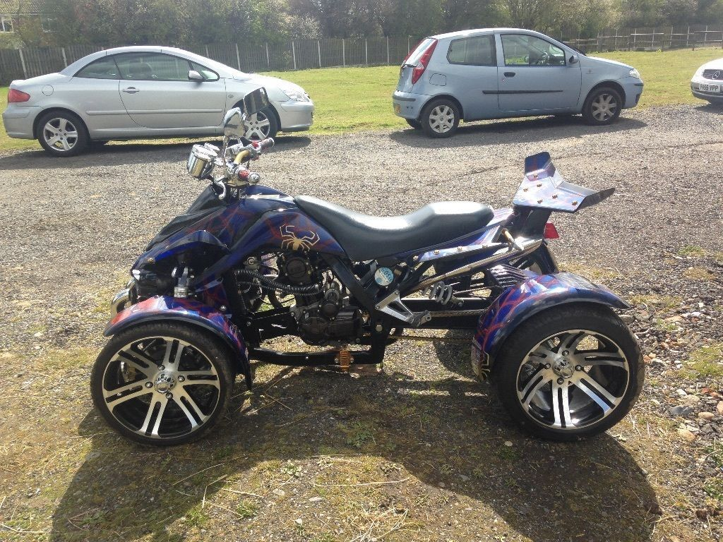 Quad 250cc mint condition spider man spry worth alot of money in brentwood essex gumtree - Quad spiderman ...