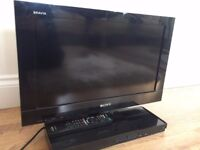 """22"""" Sony Bravia TV with built in PS2 - Great Christmas Present!"""