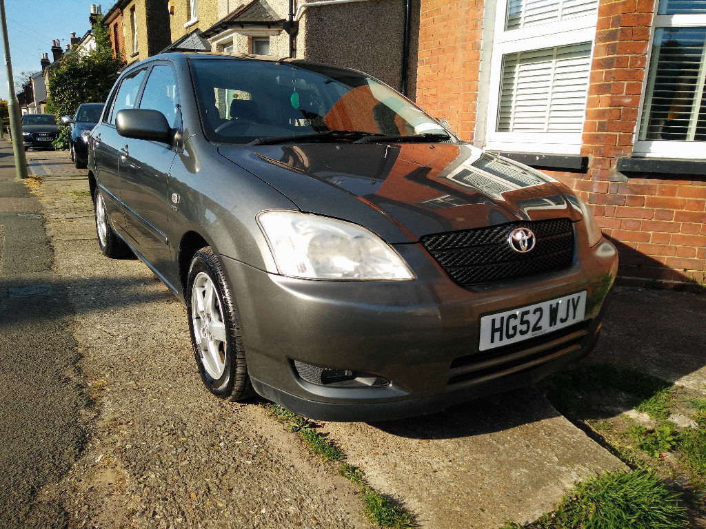 Toyota Corolla 1.6 VVT-i T3 5dr - £1600 - 73910 miles - Reliable, Great Condition, New MOT, FSH