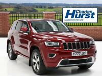 Jeep Grand Cherokee V6 CRD OVERLAND (red) 2014-10-30