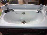 Cloakroom Vanity Unit and Sink