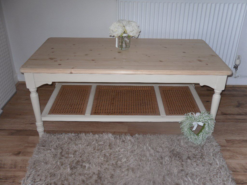 Quality Laura Ashley Clifton Coffee Table Beautifully Restored In Shabby Chic Style In Whitchurch Cardiff Gumtree