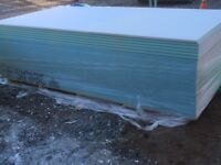 50 sheets of 12.5mm plasterboard