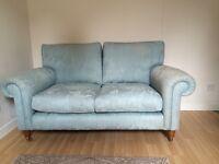 Lovely Duck-Egg Blue Two Seater Sofa