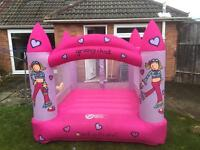 Children's bouncy castle,groovy chick,great condition,with blower