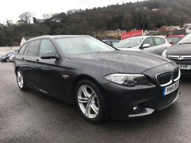 2014 (14 reg) BMW 5 Series 2.0 520d M Sport Touring 5dr Estate Automatic Turbo Diesel