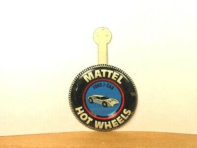 Hot Wheels Redline Button Badge Ford J-Car Solid Tab A28