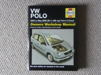 V W POLO Owners Workshop Manual