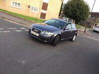 56 Plate 2006 Audi A3 Diesel 1.9 tdi Grey Full Service History 116000 miles