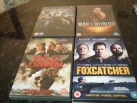 18 Various DVD's