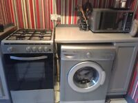 Fitted kitchen units, used and appliances, used - dish-washer, cooker, washing machine
