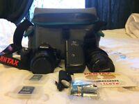 Pentax K110 D digital camera