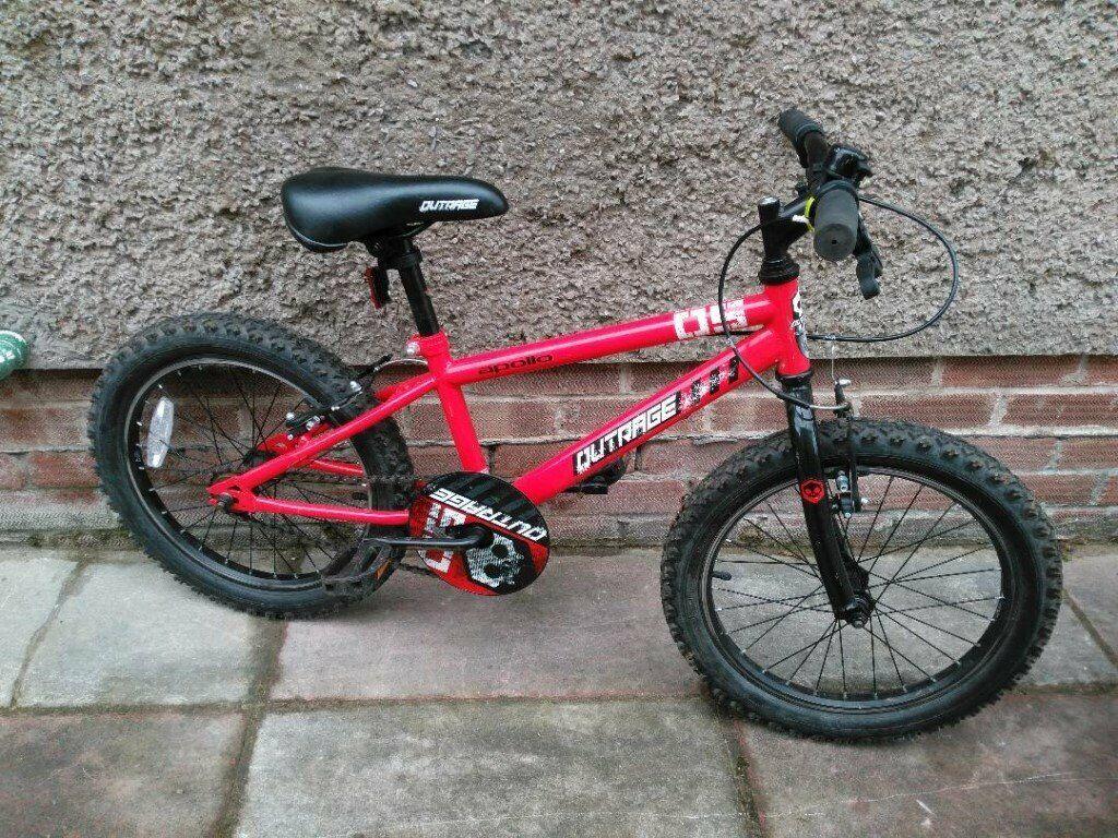 ca4448072744 Apollo Outrage Kids Bike 18 Inch Wheel | in Rhiwbina, Cardiff | Gumtree