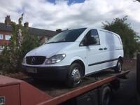 Mercedes Vito 111 cdi 57 breaking for spares