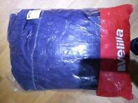 mens blue work overalls brand new with tags in bag size small ideal for DIY