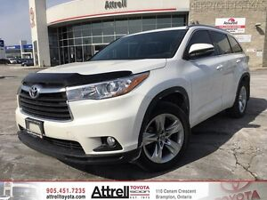 2016 Toyota Highlander Hybrid Limited Navi,Alloys, Leather, Roof
