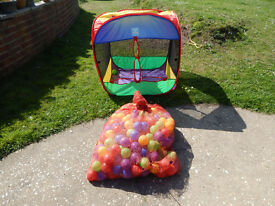 Childs Play Tent with Balls
