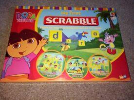 Dora the explorer junior scrabble game in English and Spanish