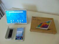 Unlocked Samsung Galaxy Note 4 SM-N910F/96GB/Galaxy Tab S 10.5/16GB/Bundle