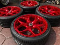 "20"" VW T5 T6 Transporter Sportline Alloy Wheels & New Tyres - BMW X6 Style 5x120"