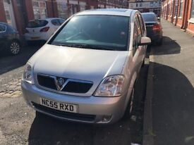 VAUXHALL MERIVA DESIGN 1.6 WITH LOW MILEAGE FSH
