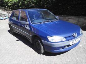 Peugeot 306 1.9D 1998 Spares or Repair