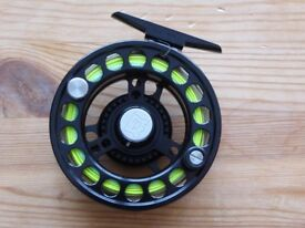 Hardy Uniqua Fly Reel, Size 5/6 with WF 5 line.