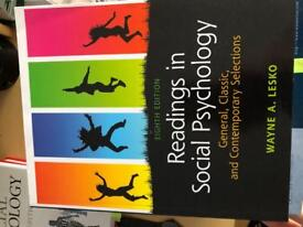 Readings in social psychology - general, classic and contemporary selections