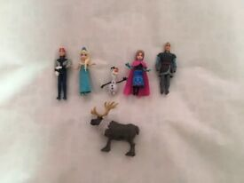 Used Disney Frozen Figure Set In Perfect Condition