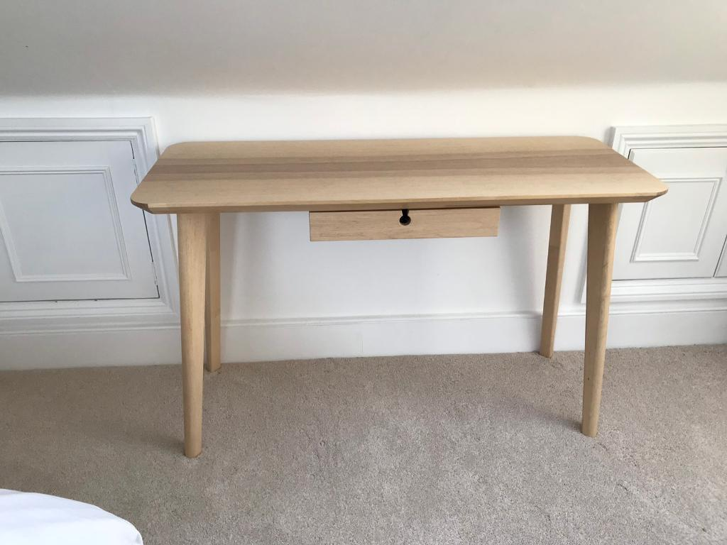 Ikea lisabo desk for sale in clapham common london gumtree