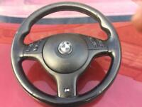 BMW E46 Msport Steering Wheel