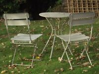 GARDEN TABLE&CHAIRS