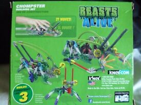 k'nex Building set - Beasts Alive - Chompster (3 in 1)