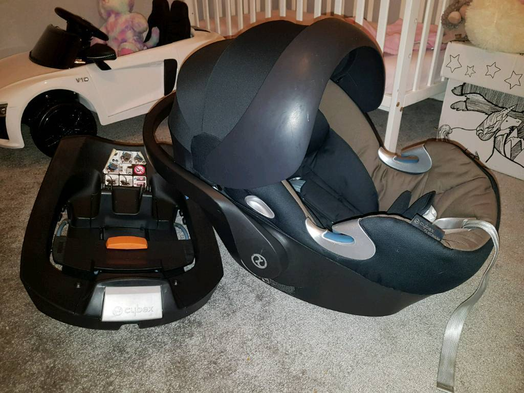 Cybex Platinum Aton Q Car Seat With Isofix Base Delivery