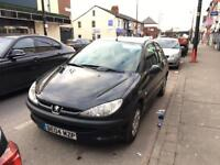 PEUGEOT 206 DIESEL full history cheip fuel and insurace