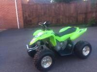 Kawasaki Electric Quad Bike Kids 12v ATV Ride On Car Boys Girls Battery 790422