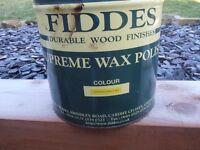 FIDDES Supreme Wax Polish Colour Stripped Pine K Mix