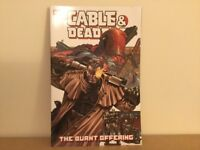 Cable and Deadpool Marvel Graphic Novel (The Burnt Offering)