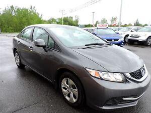 2013 Honda Civic LX/MANUEL/JAMAIS ACCIDENTE/39 568KM !