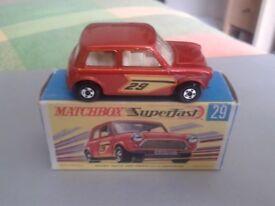 Matchbox Superfast No.29 Racing Mini