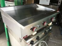 CATERING COMMERCIAL BRAND NEW FLAT GRILL 90CM KITCHEN EQUIPMENT CAFE SHOP CATERING COMMERCIAL KEBAB