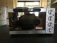 Sensio Home 28L Mini Convection Oven with 2 Hob Hotplates